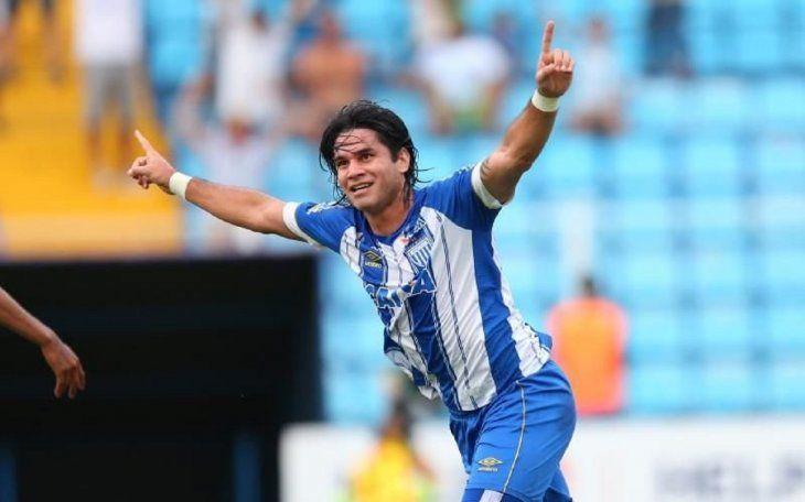 Guillermo Beltrán ascendió a la Primera División con el Avaí.
