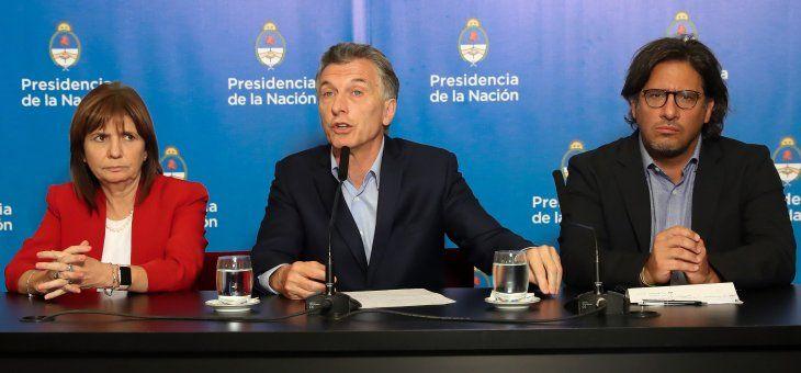 Macri se pronunció este lunes por hechos registrados el sábado.