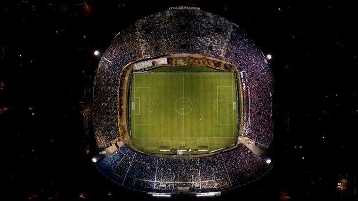 Vista del estadio Defensores del Chaco.