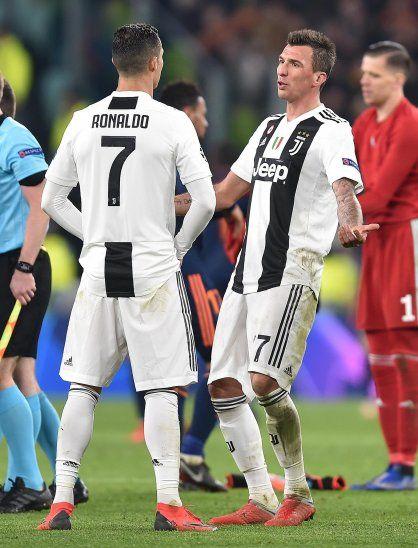 La Juventus superó a Valencia por la Champions.