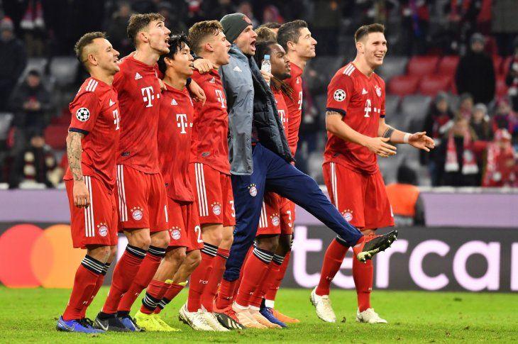 El Bayern apabulló al cuadro lisboeta.