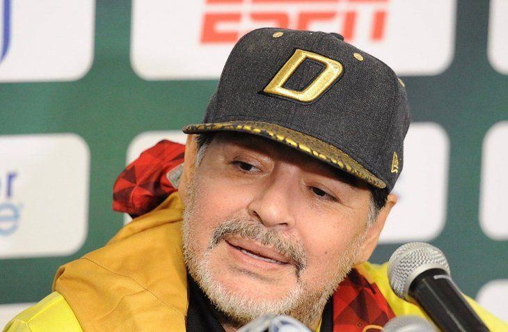 Diego Maradona también opinó sobre la final europea de la Libertadores.