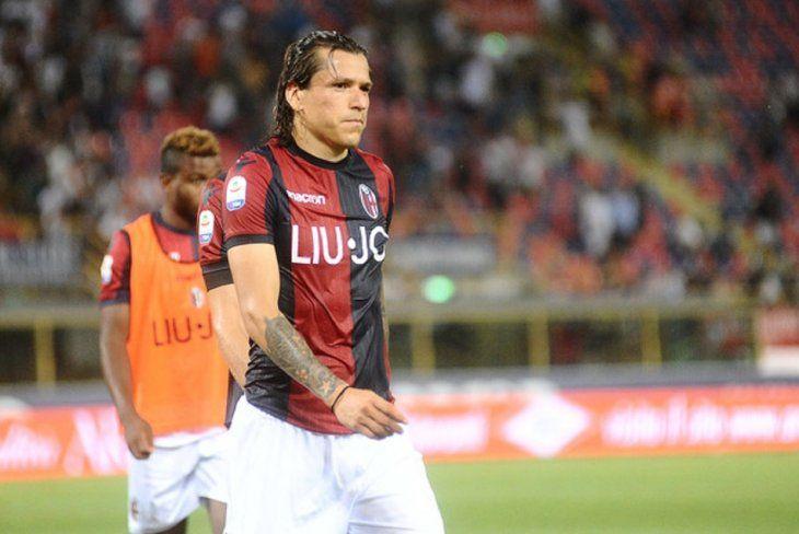 Federico Santander no pudo ayudar con goles a su equipo ante la Sampdoria.