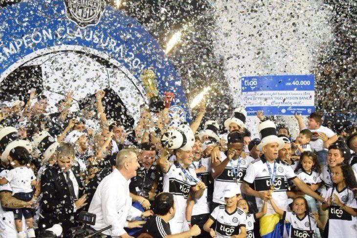 Olimpia celebrará ante sus socios la conquista de la 42 en el partido contra Sol de América.