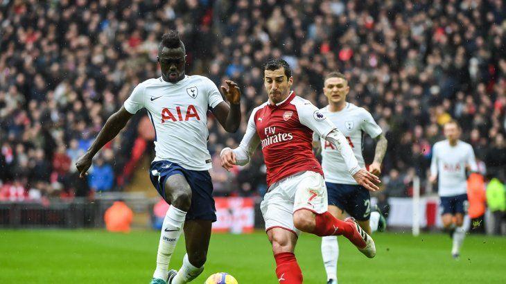 Arsenal se quedó con los tres puntos frente al Tottenham.