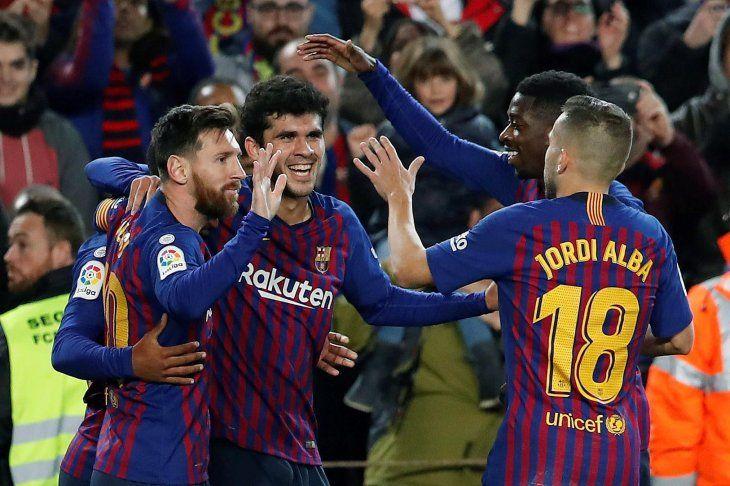 El Barcelona derrotó al Villarreal.