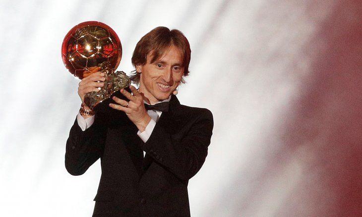 Luka Modric ganó el Balón de Oro 2018.