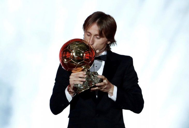 Modric ganó el Balón de Oro 2018.
