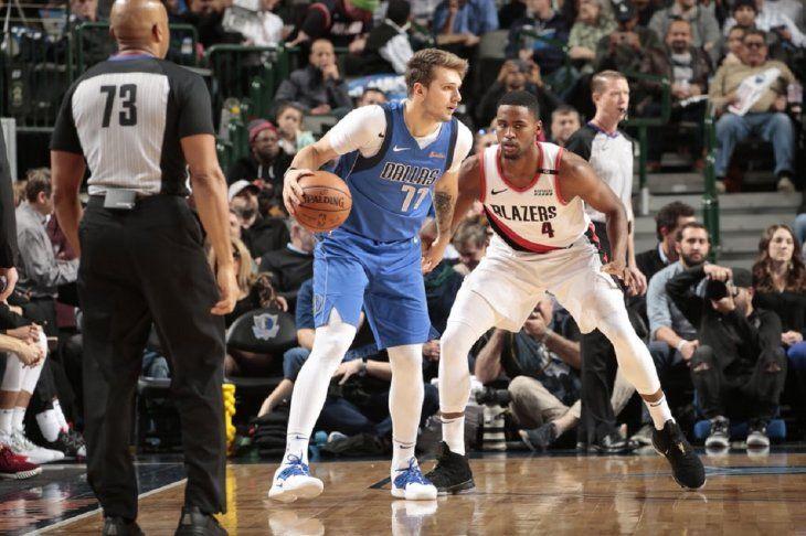 El regreso de Luka Doncic como titular permitió a los Mavericks de Dallas imponerse a los Trail Blazers.