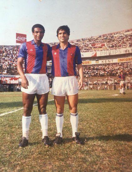 Tarciso (izquierda) falleció a los 67 años de edad.
