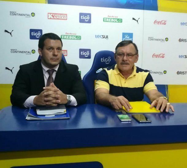 Walter Gustavo Benítez renuncia en Luqueño.