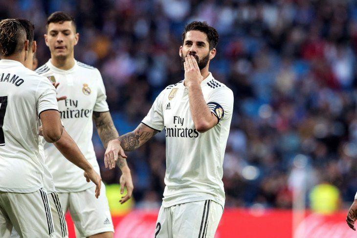 El Real Madrid goleó y avanzó de ronda.