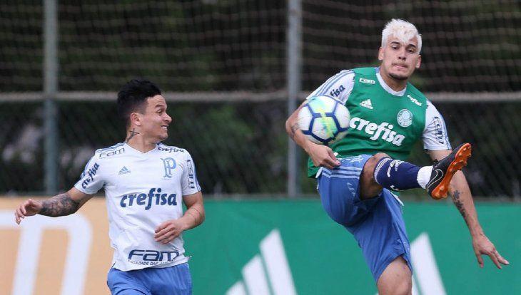 Gustavo Gómez no decepcionó en su primera temporada con el Palmeiras.