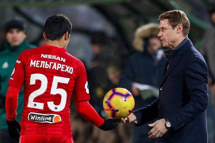 El cuadro de Moscú goleó por la Liga Rusa.