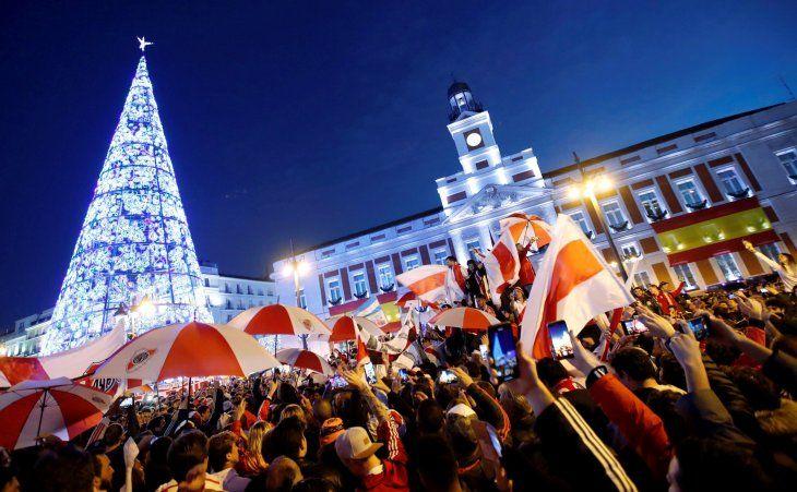 Madrid aguarda por la fecha de la Libertadores.