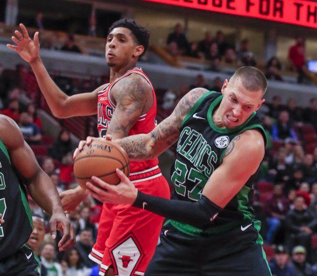 Los Celtics derrotaron a los Chicago Bulls