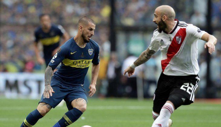 Final de Copa Libertadores en Madrid.