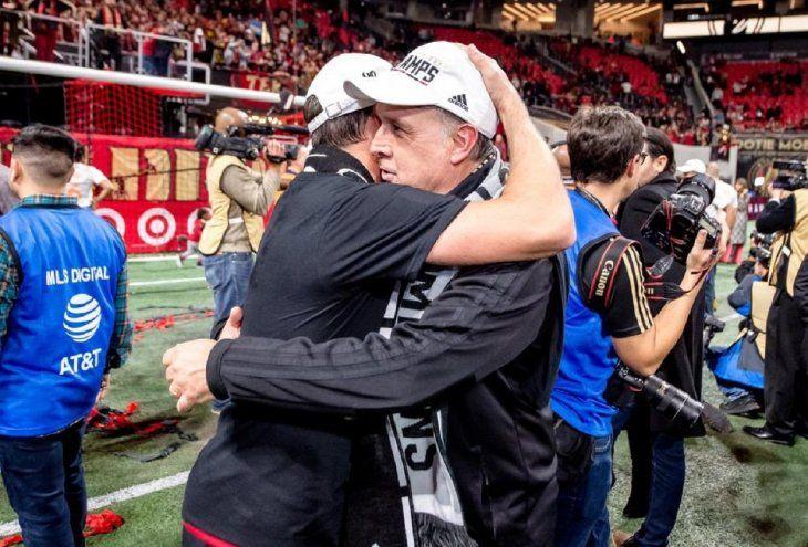 Gerardo Martino se despide del Atlanta United.