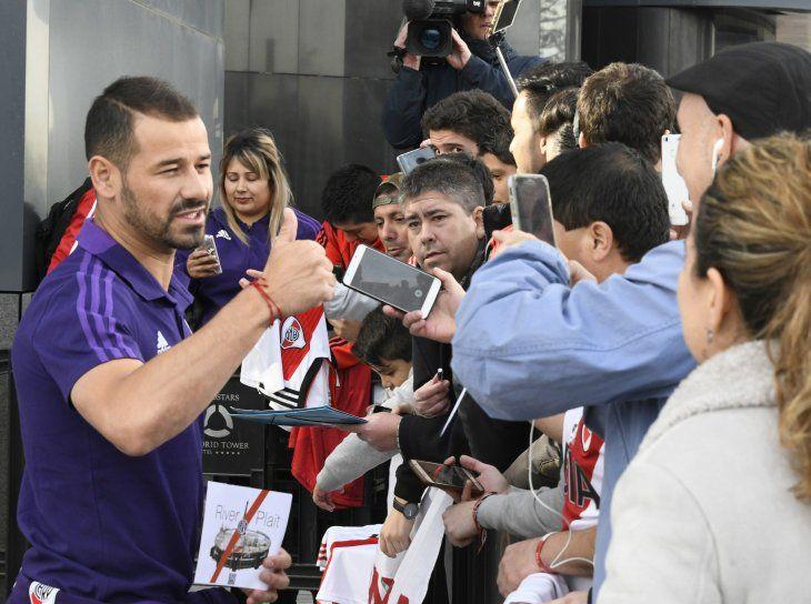 El campeón de América viaja con destino a Dubái.