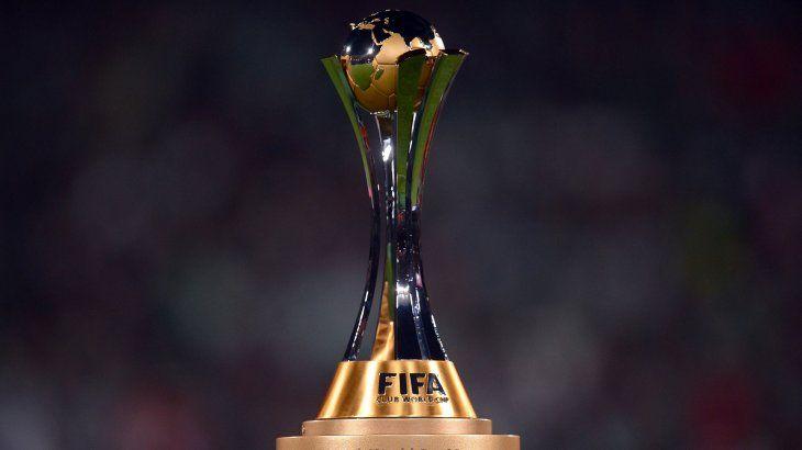 Trofeo del Mundial de Clubes.