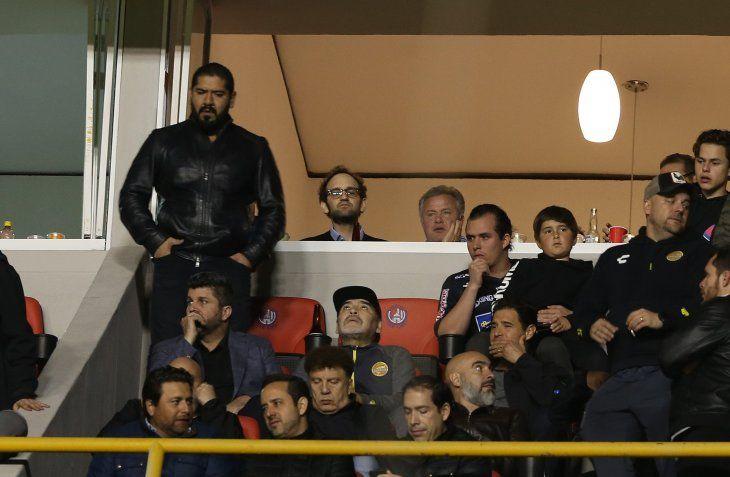 Sanción para Maradona por los hechos registrados tras la final del ascenso.