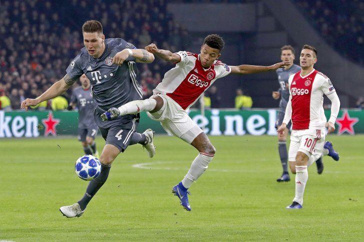 El Bayern Múnich avanzó como primero.