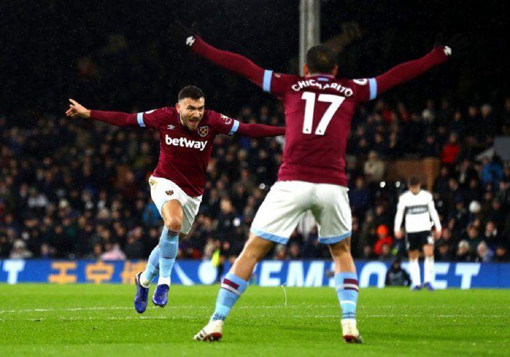 Pellegrini y el West Ham suman su cuarto triunfo consecutivo