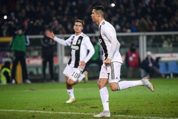 Cristiano y el gol 5.000 de Juventus en la Serie A.