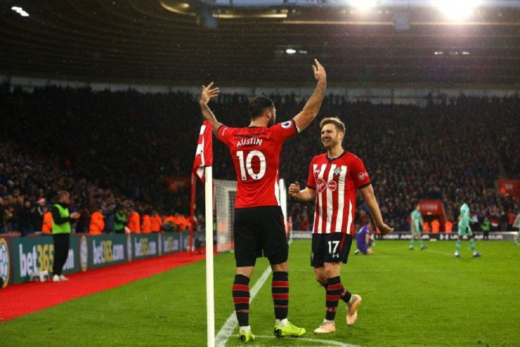 El Southampton dio la nota al vencer como local al Arsenal.