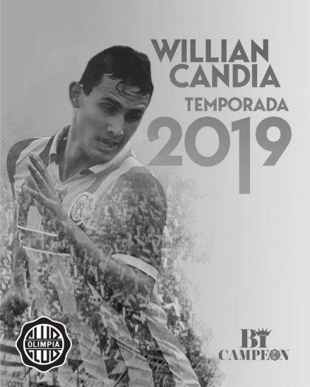 CRUZA LA VEREDA. Willian Candia se convierte en nuevo refuerzo de Olimpia procedente de Cerro Porteño