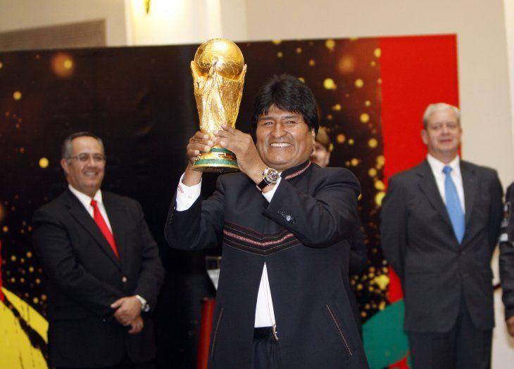 Evo Morales y su gran deseo de que Bolivia sea una de las sedes del Mundial 2030.