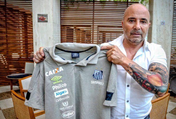 Pelé manifiesta apoyo a Sampaoli y le desea éxito en el Santos.