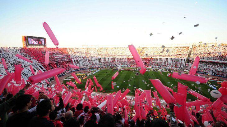 River Plate festejará la obtención de la Copa Libertadores en el estadio Monumental de Núñez.