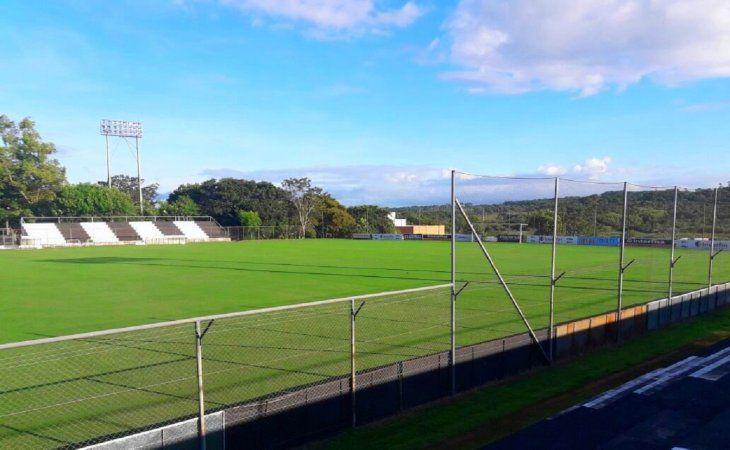 Estadio J.J. Vázquez donde oficia de local el Club Santaní.