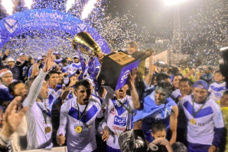 El San José de Oruro se coronó en el fútbol boliviano.