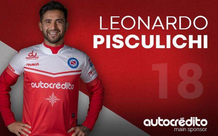 Pisculichi actualmente está en Argentinos Juniors.
