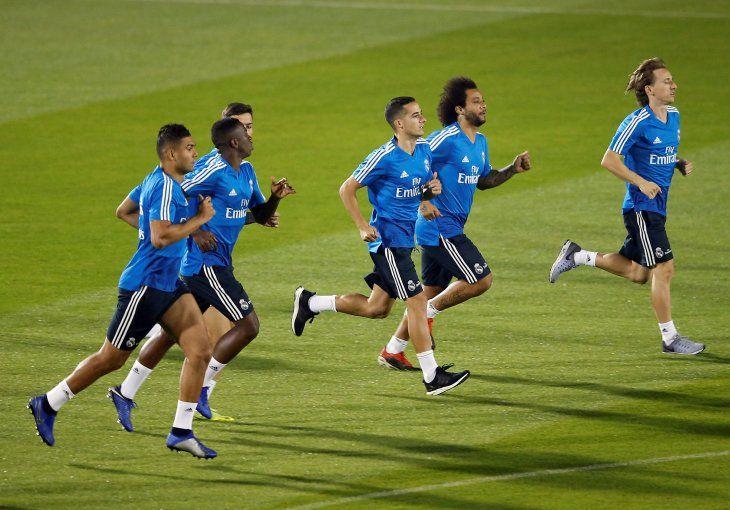 Real Madrid regresó a los entrenamientos previo a la final del Mundial de Clubes ante el Al Ain.