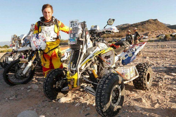 Nelson Sanabria participará de su sexto Dakar consecutivo.