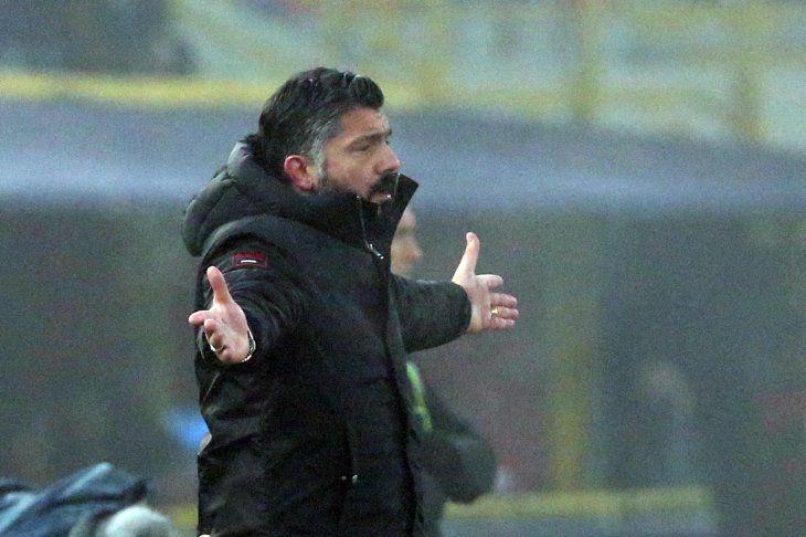 Gattuso no quiere desprenderse del Pipa.