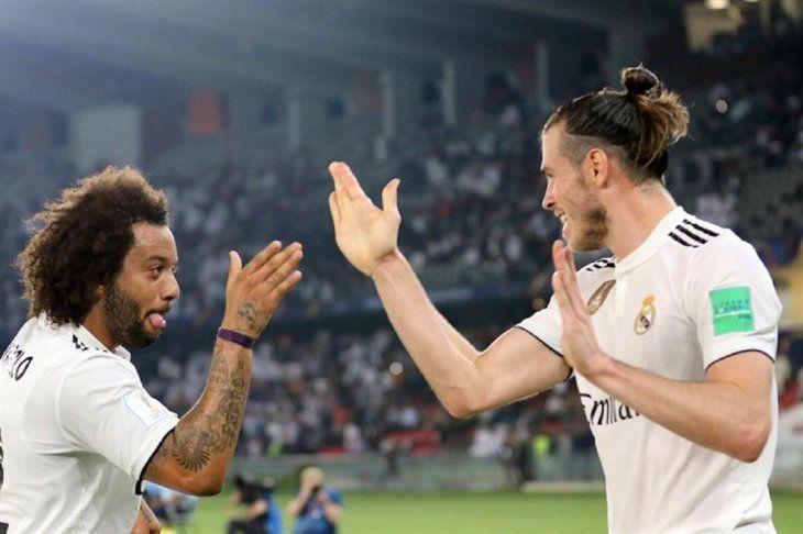 Los jugadores del Madrid