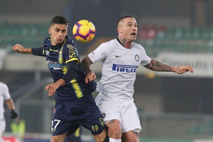 Chievo Verona e Inter empataron este sábado.