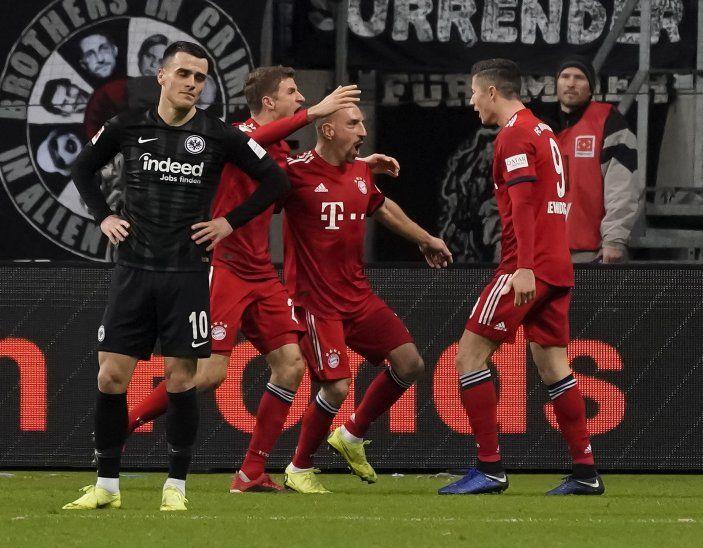 El Bayern cerró el 2018 con triunfo.