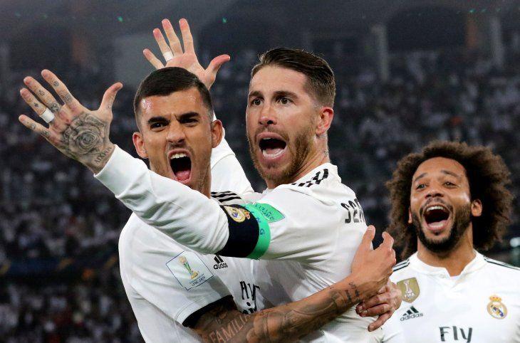 Sergio Ramos marcó uno de los goles del Real Madrid.