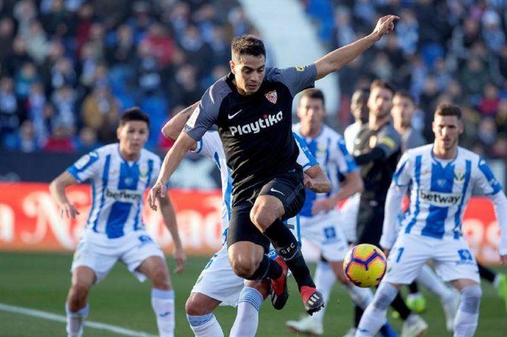 El Sevilla rescata un punto ante el Leganés.