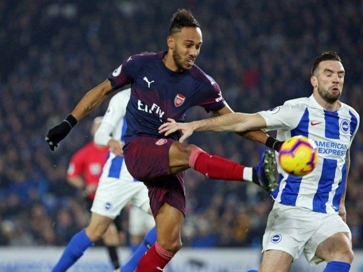 Arsenal no pasó del empate en el campo del Brighton & Hove (1-1).