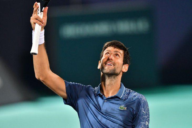 Djokovic no tuvo problemas para avanzar.