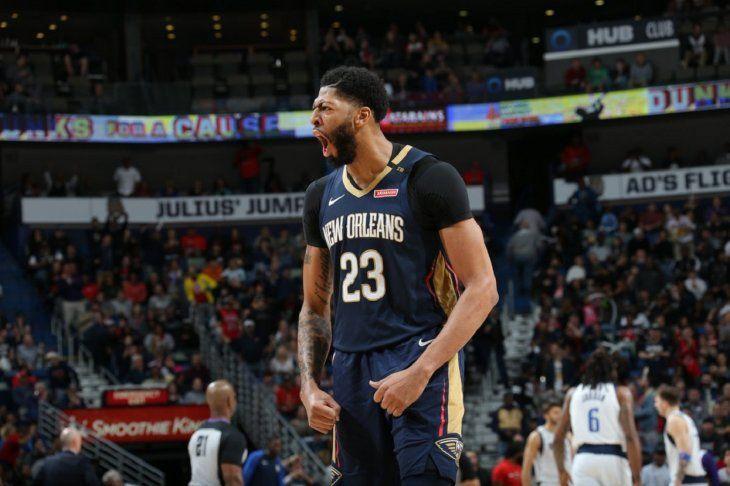 Davis se lució con los Pelicans.