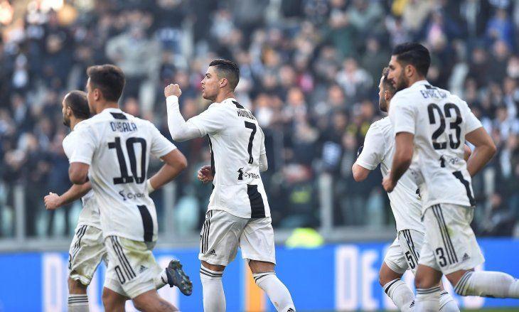 Juventus triunfó con un doblete de Cristiano.
