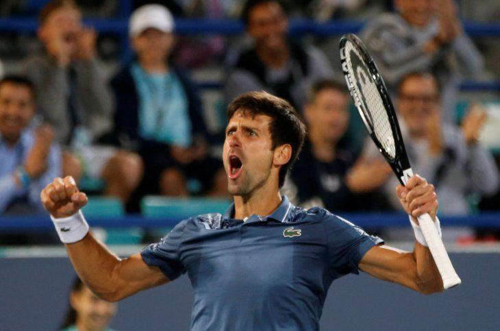 El serbioNovak Djokovic sigue siendo el número uno del mundo en el Tenis.