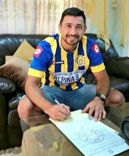 Aranda firmó con el Deportivo Capiatá